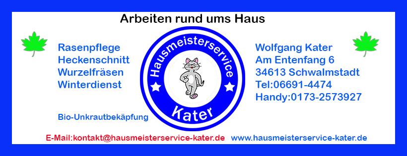 Hausmeisterservice Kater in Schwalmstadt